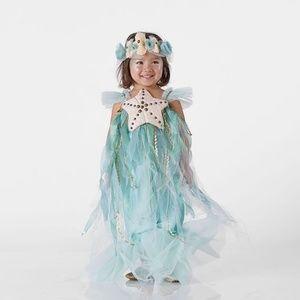 Pottery Barn Kids PBK Mermaid Costume and Headband